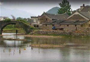 Un village du comté de Jiangyong où le nüshu fut découvert en premier.