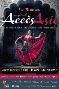 Affiche du 22e Festival Accès Asie