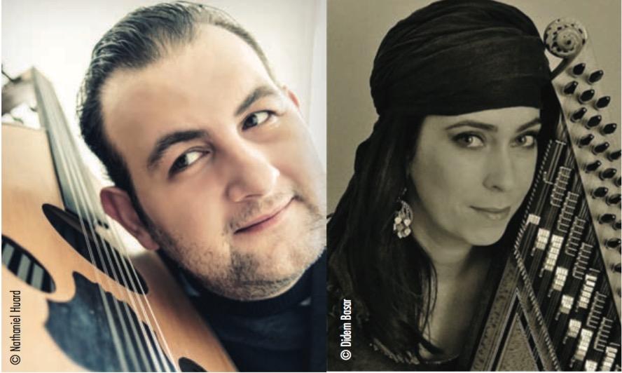 Nazih Borish et Didem Basar