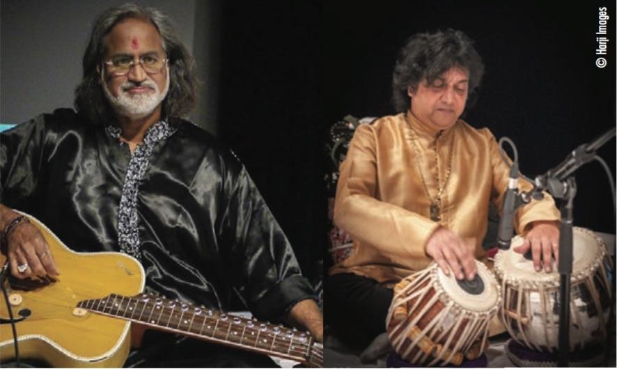 Vishwa Mohan Bhatt et Subhen Chatterjee