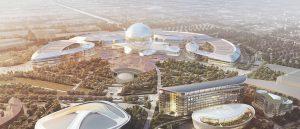 Le site de l'Expo 2017 à Astana.