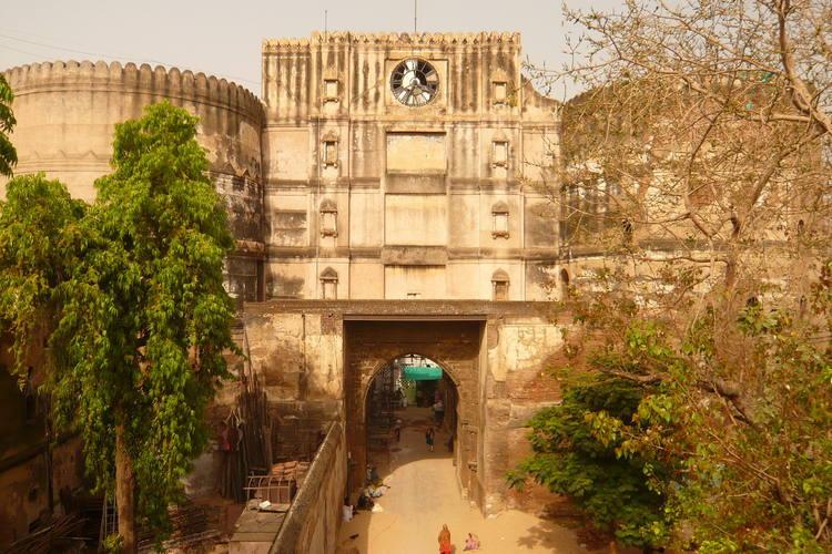 Entrée du Fort de Bhadra.