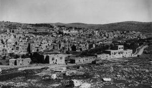 Vieille ville d'Hébron/Al-Khalil en 1898.