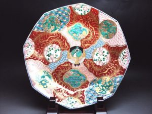 Porcelaine japonaise imari.