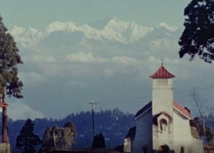 Vue de Darjeeling par Sir John Laing.