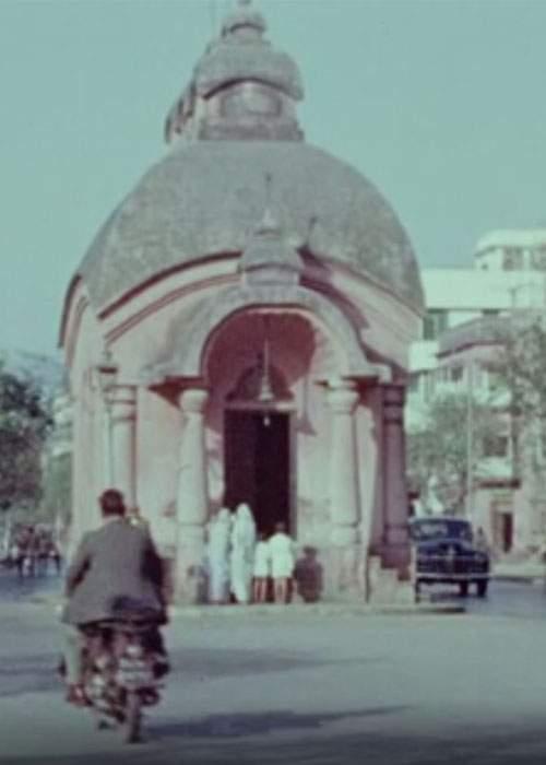 Un des nombreux temples photographié par Laing durant son travail de missionnaire.