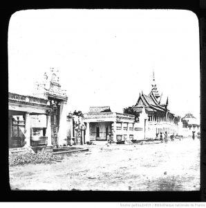 Palais du roi dans les années 1860-70.