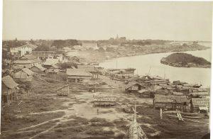 Phnom Penh dans les années 1860-70.