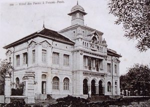 L'hôtel des Postes en 1930.