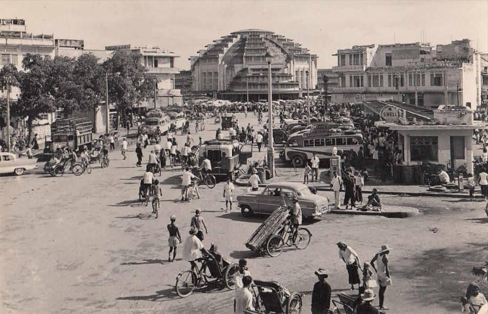 Le marché central dans les années 1950.