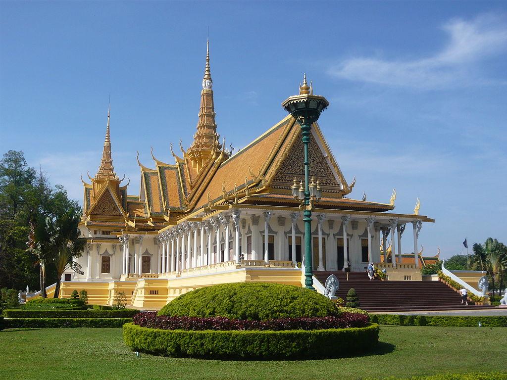 Le palais du trône en 2010.