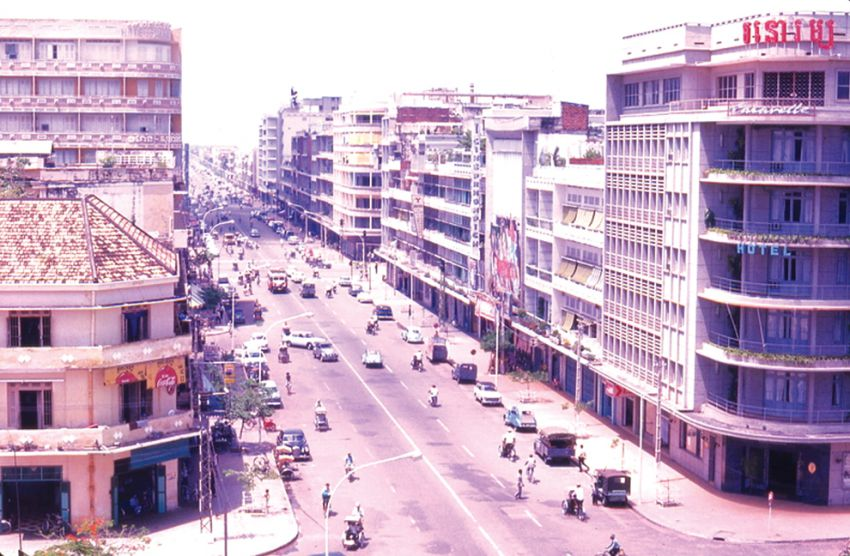 Le Boulevard Monivong sud (date indéterminée).