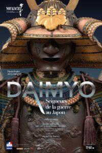 Affiche de l'exposition Daimyo au musée Guimet.