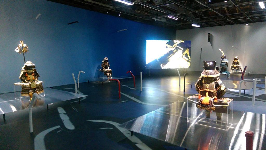 Exposition Daimyo au palais de Tokyo.